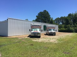 UHaul trucks ready for our customers