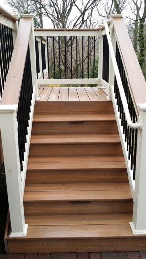 Steps with graspable