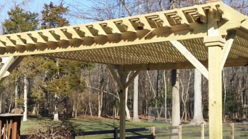 wood pergola 2