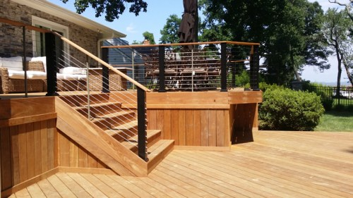 Ipe decks with stainless cable rail 20150714_145956