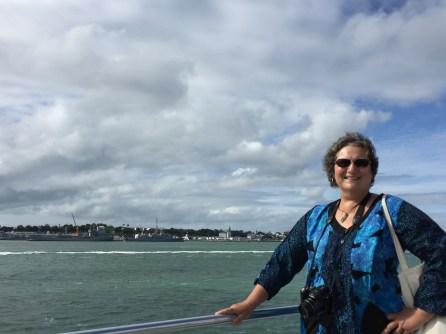 On the ferry to Waiheke