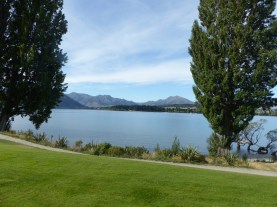 View from our suite in Wanaka