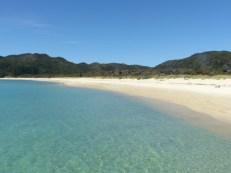 Perfect beach in Abel Tasman National Park