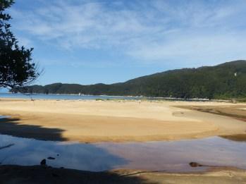 Gorgeous golden sand estuaries