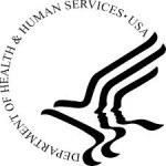 The logo of the U. S. Department of Health and Human Services