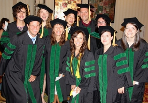 The graduating class of the ATSU-SOM Northwest Primary Care Association Campus