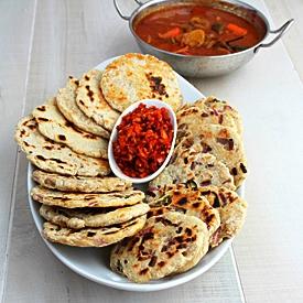 Pol Coconut Roti Short Eat Snack Sri Lanka 10