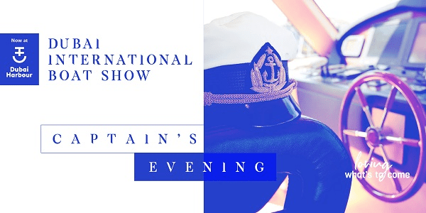 Captains evening header image