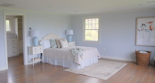 Cape Cod Staged Bedroom