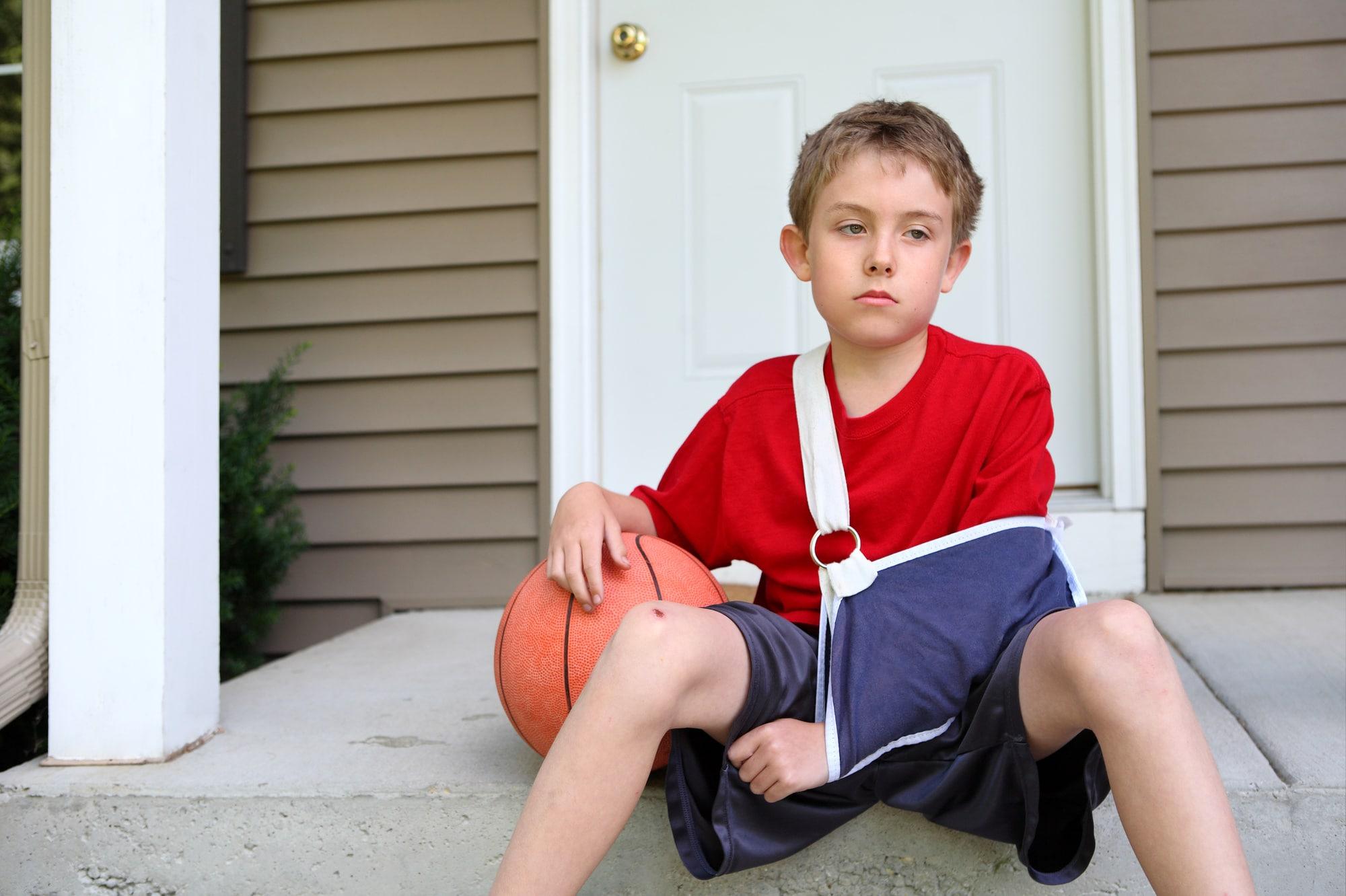 Sprain vs Fracture