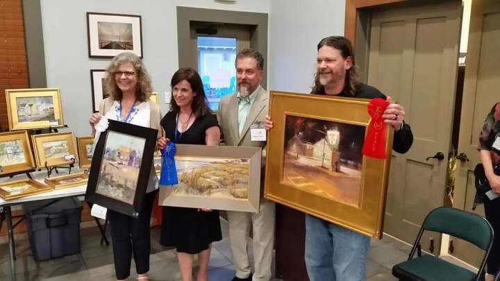 2019 Coastal VA Plein Air Winners
