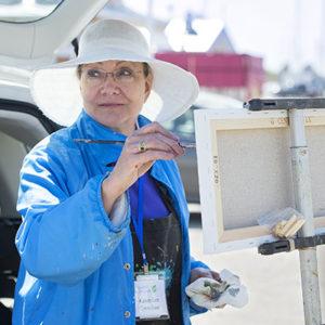 Karen Lee Crenshaw plein air artist