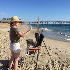 Jennifer Young, plein air artist