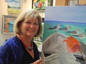 Ellen Sinclair - Coastal VA Plein Air Artist