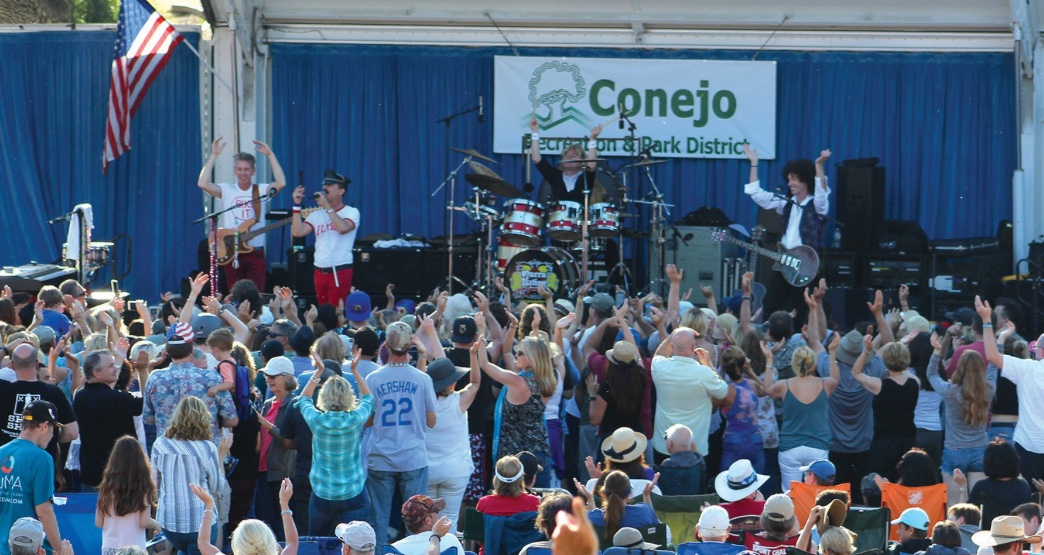 2014 Conejo Concerts in the Park Series