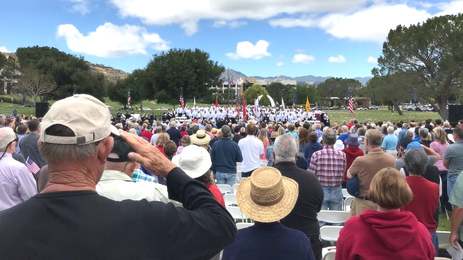 Memorial Day Remembrance Ceremony in Westlake Village