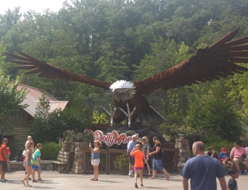 Wild Eagle Statue - Dollywood