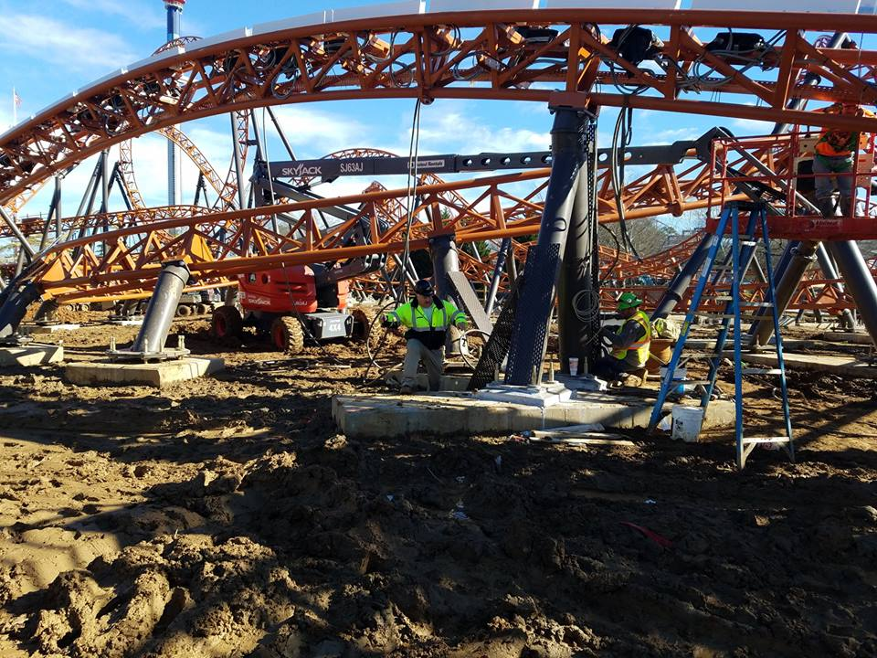 Copperhead Strike Almost Ready to Launch at Carowinds