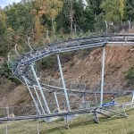 The Coaster Goats on the Roof - Mountain Coaster Helix