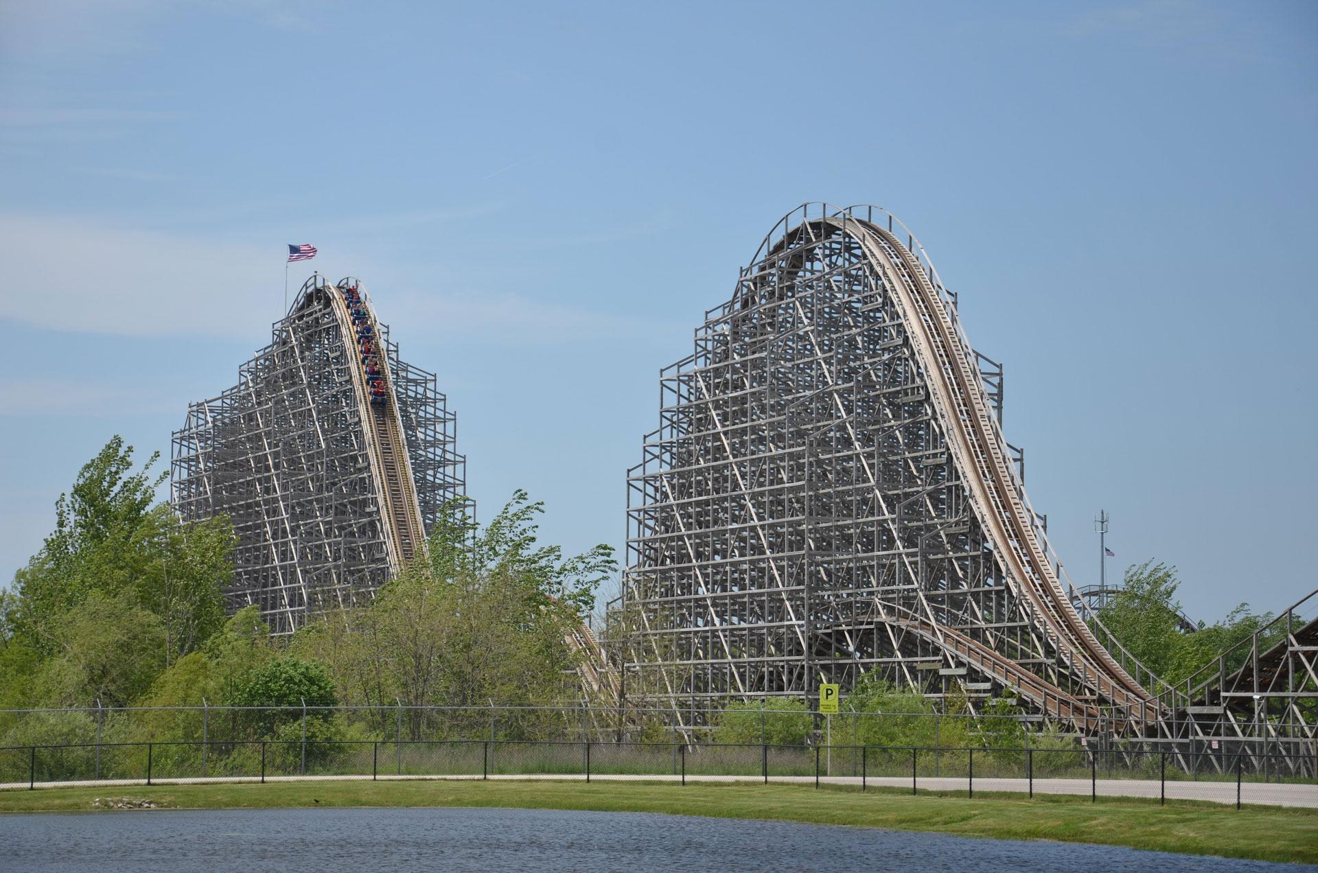 Seabreeze Jack Rabbit Roller Coaster