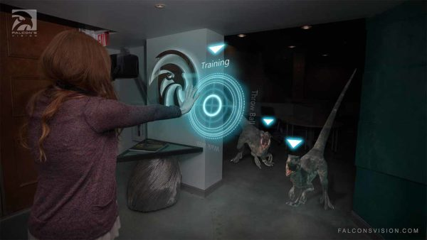 """Falcon's Creative Group Announces New """"Falcon's Vision"""" Augmented Reality Technology"""