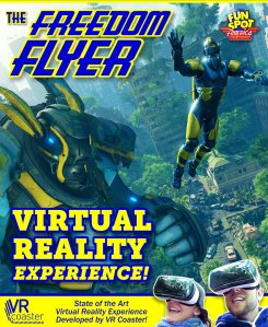 Virtual Reality Announced for Freedom Flyer – Fun Spot Orlando