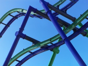 Joker Construction Tour – Six Flags New England
