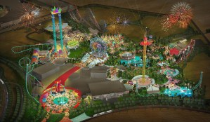 Initial Artwork Released for Six Flags Dubai
