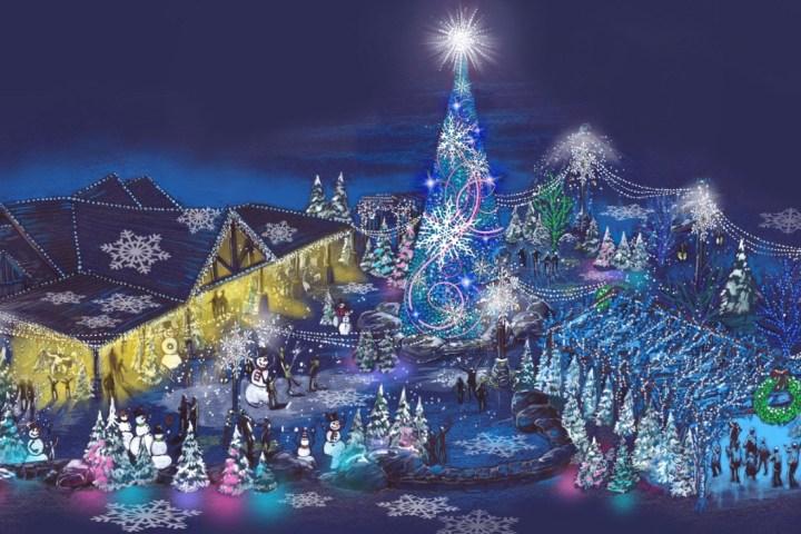 Dollywood Readies New Glacier Ridge for Smoky Mountain Christmas