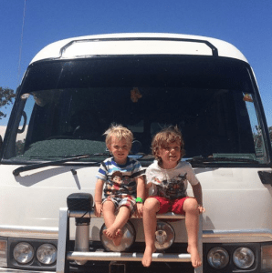 Full time family travel - our bus