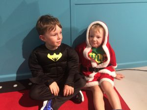 Kids playing dress ups at Wannabees - Sydney Indoor Play Centre
