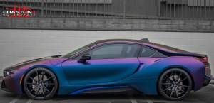 BMW i8 w/ Savini Black DiForza Wheels