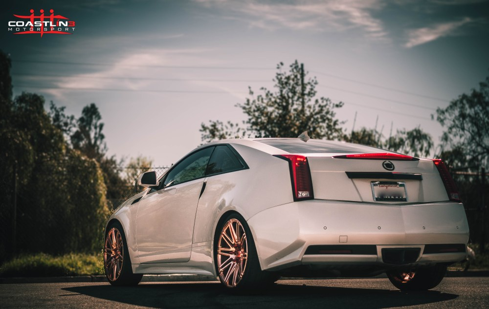 Cadillac CTS w/ XO Luxury Wheels in Custom Rose Gold Finish
