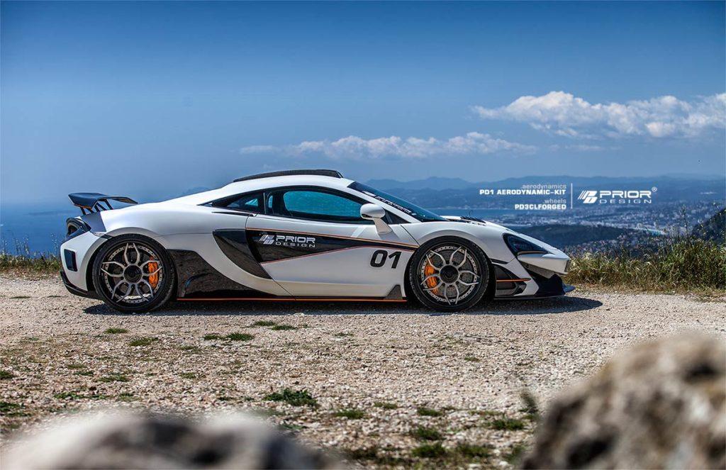 Prior Design McLaren PD1 Aero-kit Side View