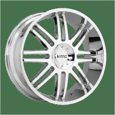 KMC Wheels KM714 Silver