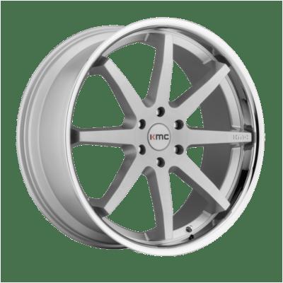 KMC Wheels KM715 Silver