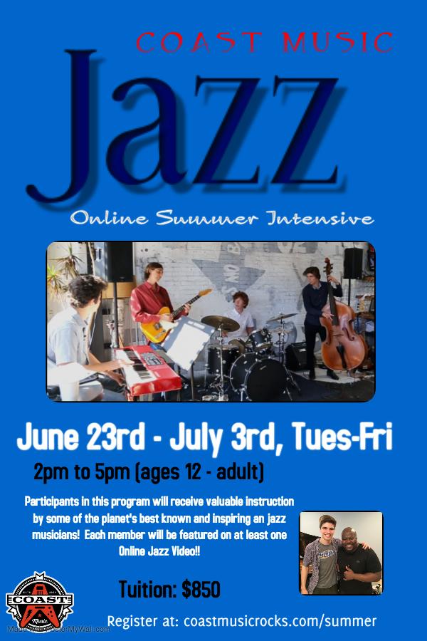 Online Jazz Intensive