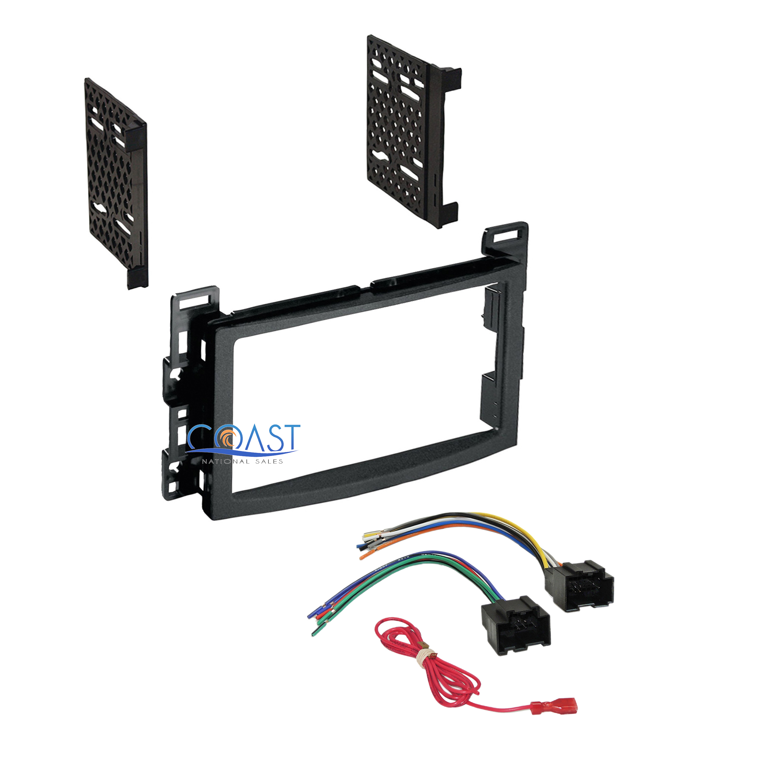 Car Radio Stereo Ddin Dash Kit Harness For