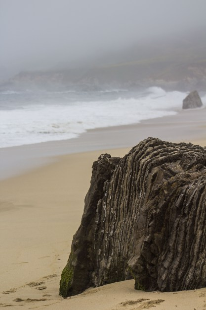 Imagine the seismic activity that created this work of art at Garrapata State Beach. Dawn Page / CoastsideSlacking