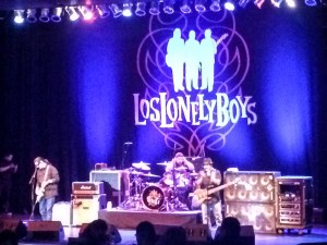 Los Lonely Boys at the Uptown Theater, Napa. Dawn Page/CoastsideSlacking