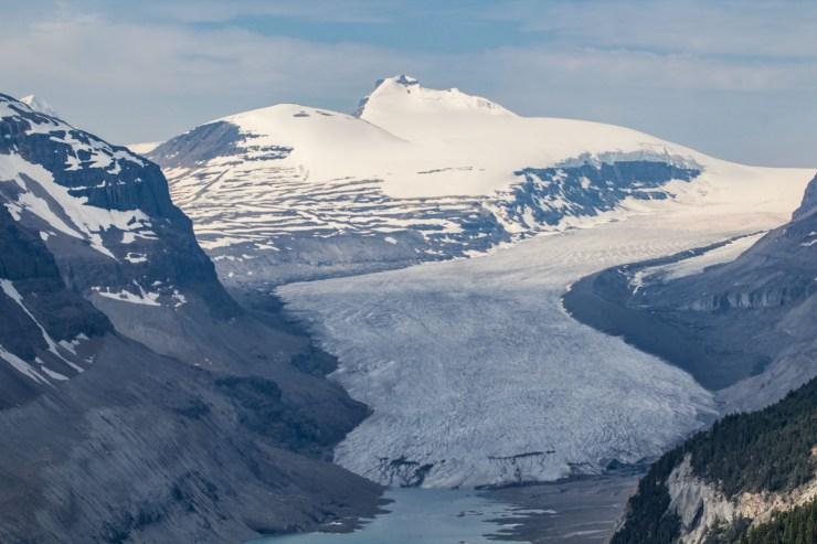 Saskatchewan Glacier. Dawn Page / CoastsideSlacking