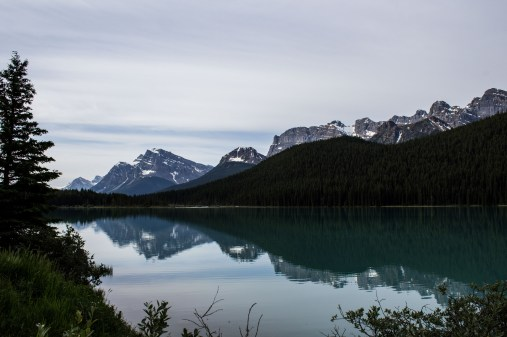 One of the many turquoise lakes along the Icefields Parkway. Dawn Page / CoastsideSlacking