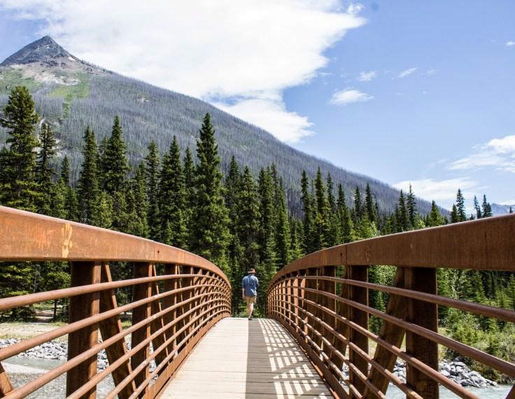 Bridge leading to the Paint Pots of Kootenay National Park, BC, Canada. Dawn Page / CoastsideSlacking