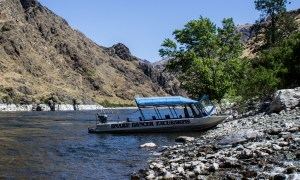 Snake Dancer Excursions - our hosts for a Hell's Canyon jet boat adventure. Dawn Page / CoastsideSlacking