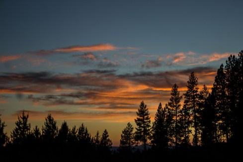 Sunset at the Newberry National Volcanic Monument. Dawn Page / CoastsideSlacking