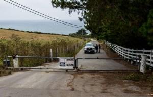 Gate at Martins Beach near Half Moon Bay, California. Dawn Page / CoastsideSlacking