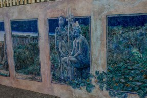 Murals at Martins Beach, near Half Moon Bay, California. Dawn Page / CoastsideSlacking