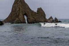 Surfers at Martins Beach near Half Moon Bay, California. Dawn Page / CoastsideSlacking
