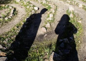 El Granada's Quarry Park labyrinth. Dawn Page / CoastsideSlacking