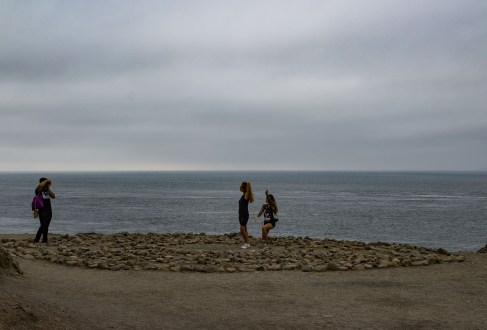 Instagram moments at the Lands End Labyrinth. Dawn Page / CoastsideSlacking